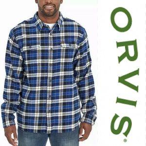 ORVIS Men's Size M Heavyweight Shirt Flannel NWT